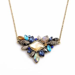 Antique Romantic Pendant Necklace